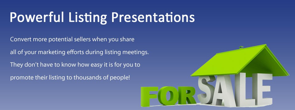Real Estate Listing Presentations that Generate Leads